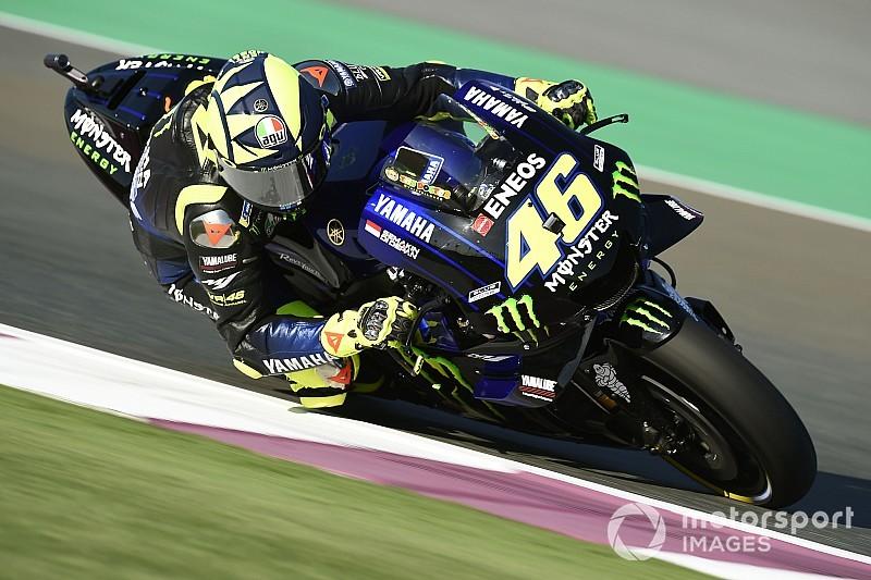 EL1 - Rossi tient tête à Lorenzo et Márquez !
