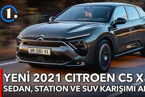 Yeni Citroen C5 X   İlk Bakış
