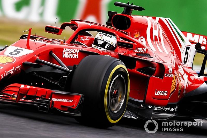 Ferrari damaging tyres