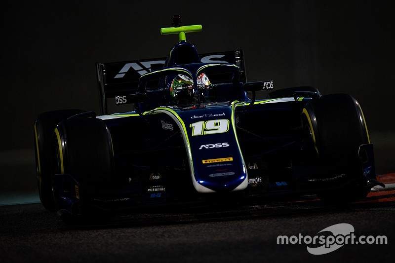 Deletraz ends F2 post-season testing on top