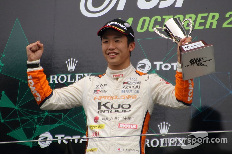 全日本F3王者の坪井翔「将来はル・マン24時間に挑戦してみたい」