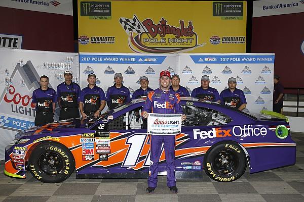 NASCAR Cup Qualifiche Hamlin e Kenseth regalano la prima fila a Charlotte al Joe Gibbs Racing
