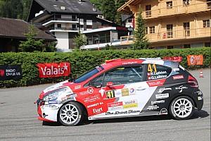Schweizer rallye Rennbericht Rallye du Chablais Junior: Nicolas Lathion macht Loeb alle Ehre