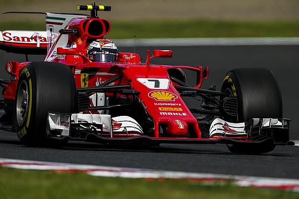Formula 1 Breaking news Ferrari has potential to win last four races, says Raikkonen
