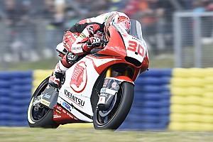 Moto2 速報ニュース 【Moto2】7位の中上貴晶、ポイント獲得も「納得できる結果ではない」