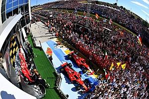 Formule 1 Contenu spécial L'histoire derrière la photo - Vettel et les célébrations du podium