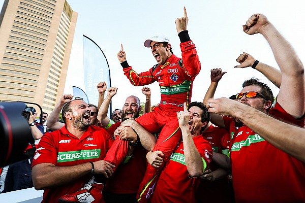 Формула E Ди Грасси стал третьим чемпионом Формулы Е