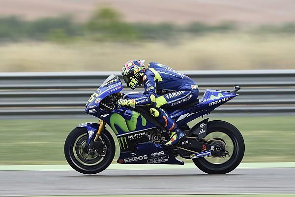 MotoGP Réactions Sensations positives pour Valentino Rossi en Aragón