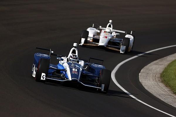 Chilton lidera el octavo día de preparación rumbo a Indy 500