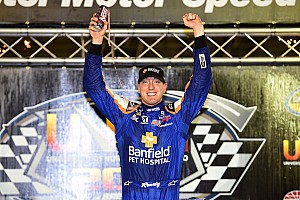 NASCAR Truck Race report Kyle Busch dominates Bristol Truck race from pole