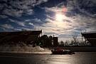 Galería: los F1 2017 ruedan sobre agua por primera vez