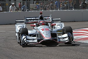 IndyCar Qualifying report St Pete IndyCar: Power scrapes through, then scores 45th pole