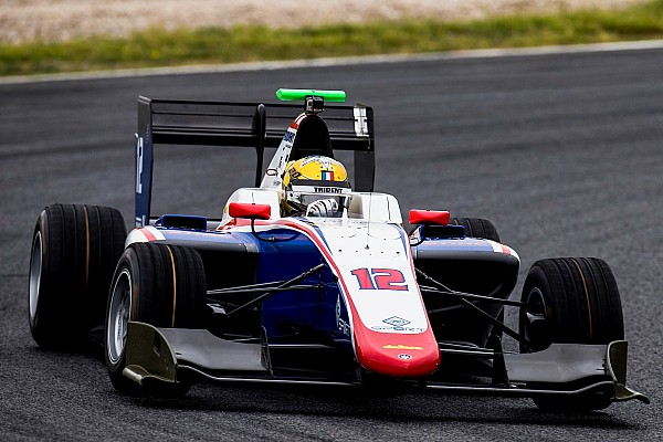 Бокколаччи стал лучшим в финальных тестах GP3