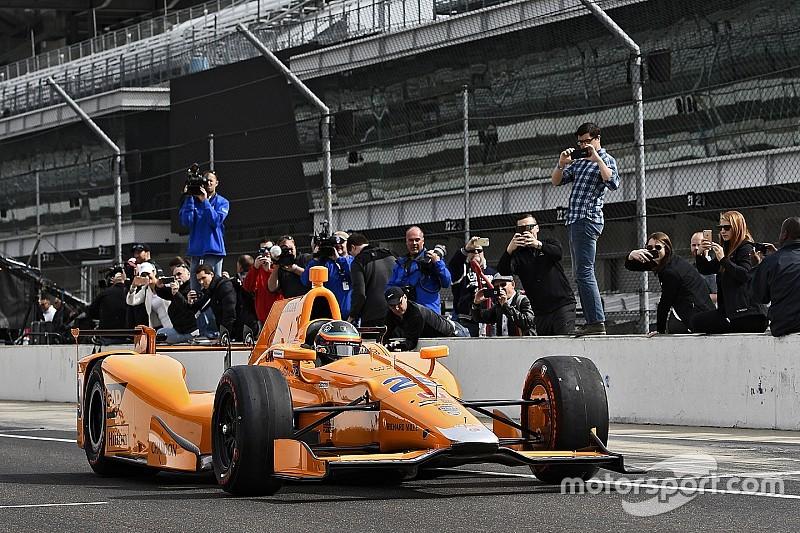 Dos millones de personas siguieron la prueba de Alonso en Indianápolis