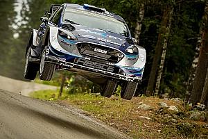 WRC Отчет о секции Тянак захватил лидерство в Ралли Финляндия