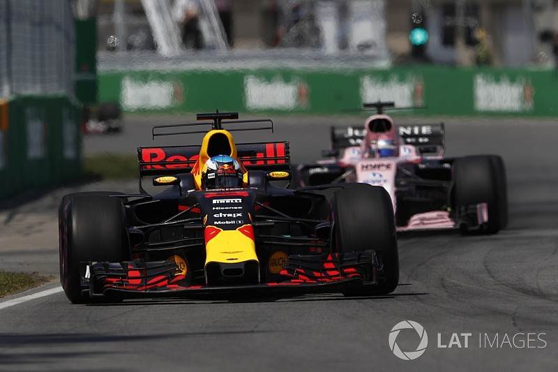 Red Bull: la amenaza de Force India es según el circuito