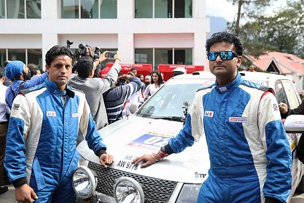 Indian Rally Race report Rana and Tanveer win shortened Raid de Himalaya