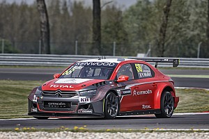 WTCC Qualifying report Masterly Muller secures pole for Citroën!