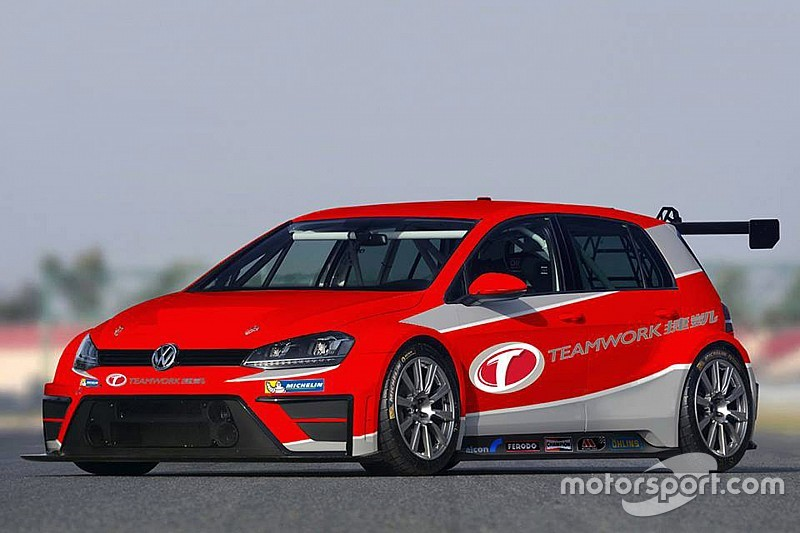 Asia, il Teamwork Motorsport schiera due VW Golf GTI TCR