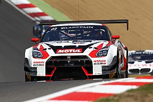 Blancpain Sprint Race report Buncombe targets Silverstone pace after Brands Hatch battle
