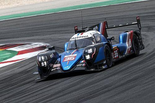 Alpine na pole position