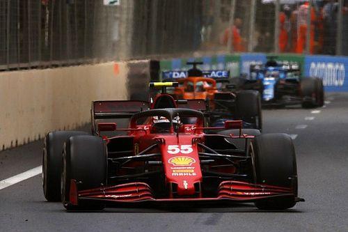 Sainz s'attend à voir Ferrari retomber dans la hiérarchie