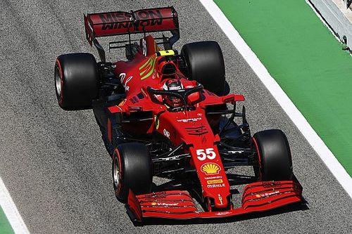 """Ferrari, Sainz: """"Ci manca velocità in rettilineo"""""""