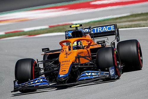 マクラーレンのノリス、F1スペインGP予選Q1で引っかかった渋滞がQ3にも『悪影響』