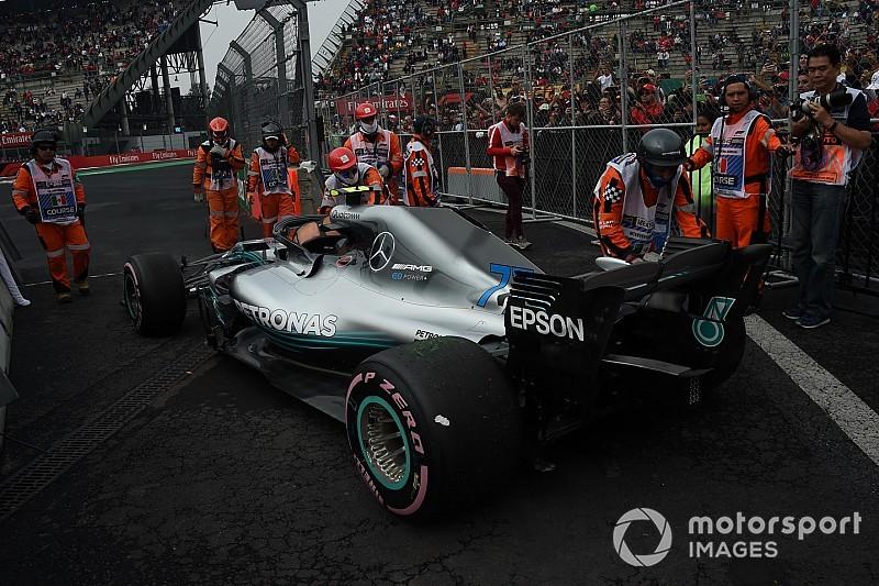 Mercedes, Bottas'ın yaşadığı sorunun Hamilton'ın başına gelmesini beklemiyor