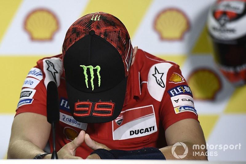 Vorzeitiges Aus beim Malaysia-Grand-Prix: Jorge Lorenzo noch nicht fit genug