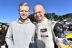 Magnussen não acredita que correrá com seu pai em Le Mans
