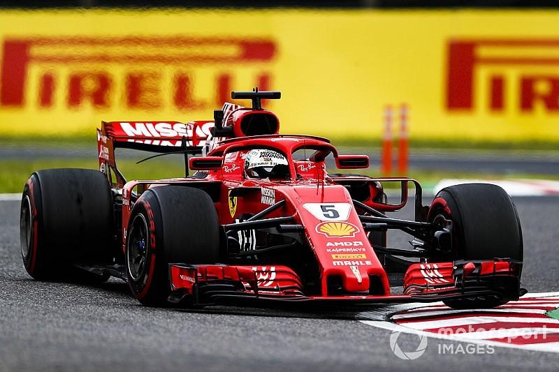 Ferrari: l'involuzione c'è anche a Suzuka, ma il doppio sensore non c'entra