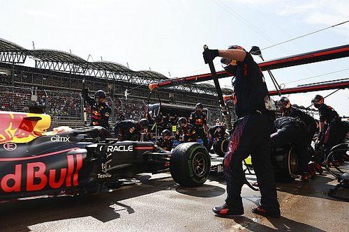 Red Bull hizo la parada en pits más rápida del año en Hungría