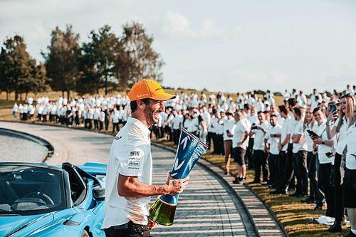 Daniel Ricciardo, la transformation estivale