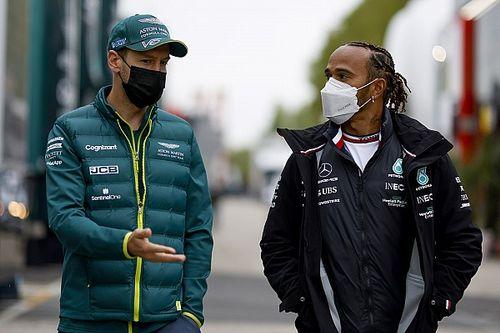 Hamilton picks Vettel rivalry as favourite of F1 career