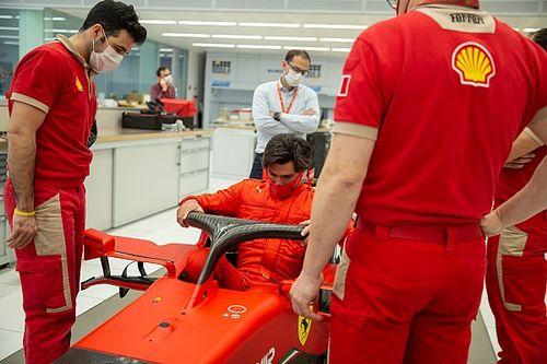 Ferrari anuncia teste em Fiorano com Sainz, Leclerc, Schumacher e membros da Academia