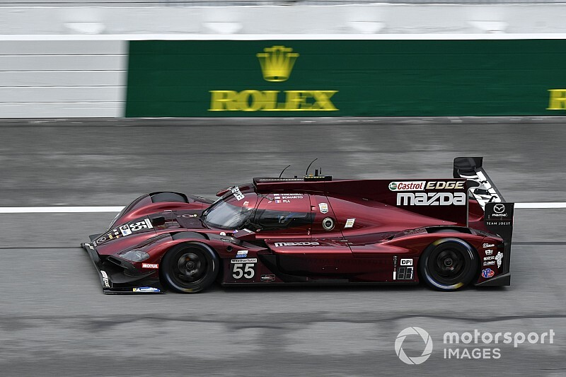 Rolex 24: Bomarito puts Mazda on top in second practice