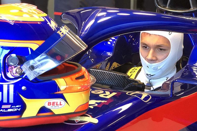 Albon gets maiden F1 run in new Toro Rosso