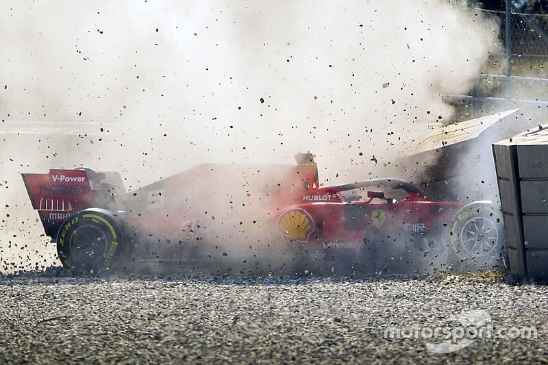 Ferrari знайшла причину аварії Феттеля: це колісний диск