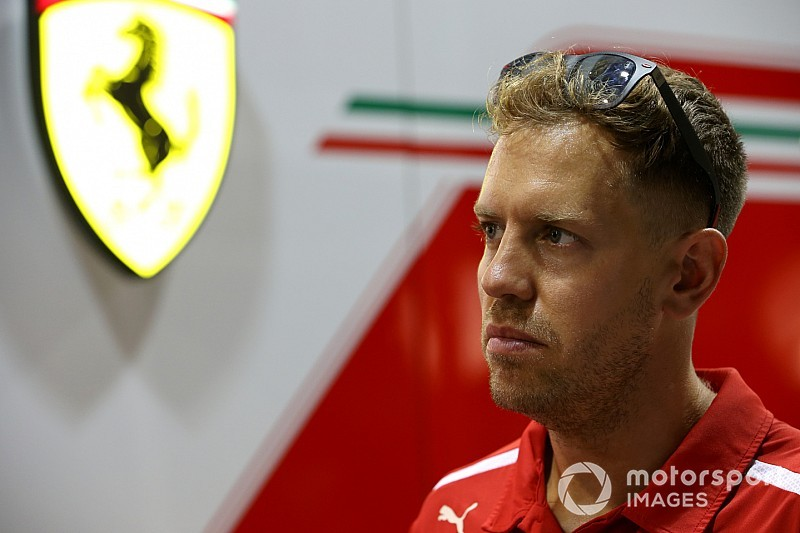 Vettel says he is his