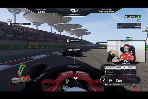 "Leclerc says Twitch streams show the ""real"" him"