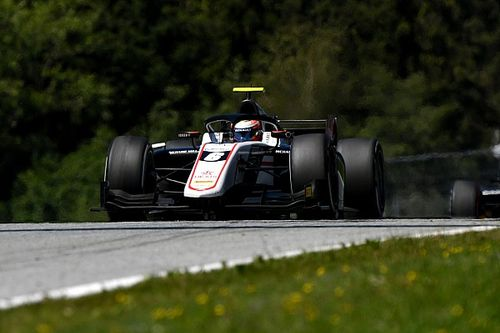 Red Bull Ring F2: Renault junior Lundgaard gets first win