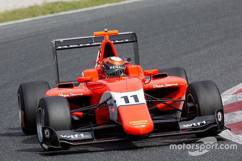 Эйткен стал лучшим в тренировке GP3 в Хоккенхайме