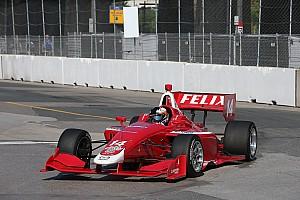Indy Lights Репортаж з гонки Росенквіст домінує в першій гонці в Торонто