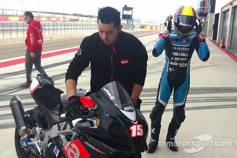 Alex De Angelis è tornato in pista ad Aragon