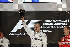 F1 Noticias de última hora Bottas, aliviado y con ganas de seguir en 2018 como en Abu Dhabi