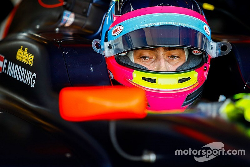 Habsburg leads Daruvala as Abu Dhabi GP3 test ends