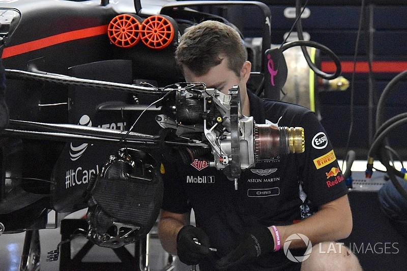 Технический анализ: Red Bull скопировала регулируемую подвеску Ferrari