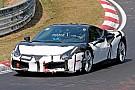 Автомобілі Гібридний та беззвучний прототип Ferrari 488 засвітився на треку