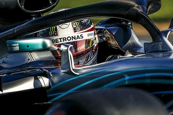 Forma-1 Motorsport.com hírek Íme az első halós pole kör a Forma-1-ből: Hamilton, Ausztrália